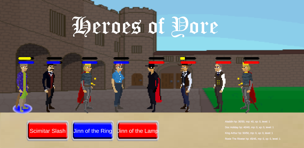 Heroes of Yore Feature Graphic